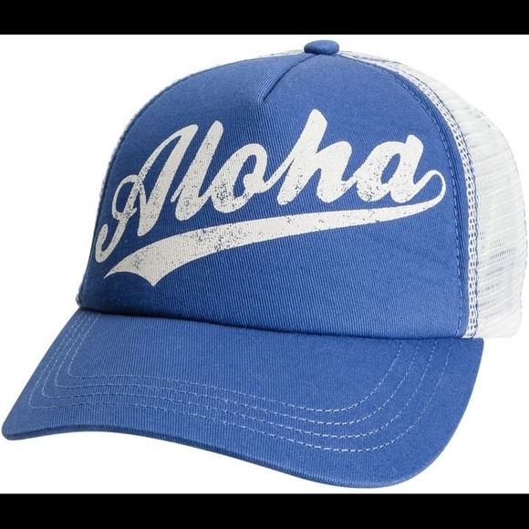 Billabong Aloha Forever Trucker Hat 7d791360370f